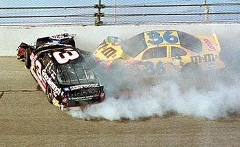 Earnhardt crash