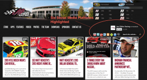 NASCAR's Social Media Leaders Among Drivers, Teams, and Sponsors