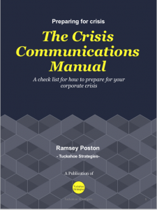 Crisis Communications Manual